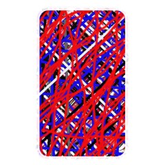 Red and blue pattern Memory Card Reader