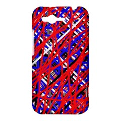 Red and blue pattern HTC Rhyme