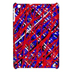Red and blue pattern Apple iPad Mini Hardshell Case