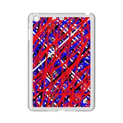 Red and blue pattern iPad Mini 2 Enamel Coated Cases