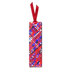 Red and blue pattern Small Book Marks
