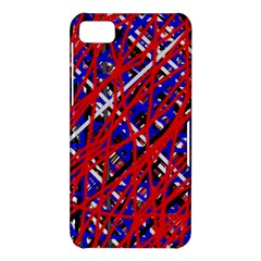 Red and blue pattern BlackBerry Z10