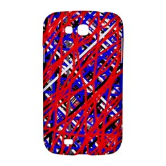Red and blue pattern Samsung Galaxy Grand GT-I9128 Hardshell Case