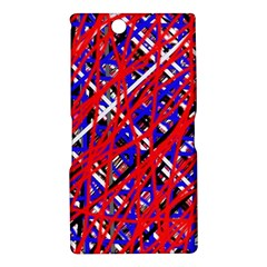 Red and blue pattern Sony Xperia Z Ultra