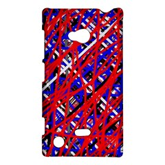 Red and blue pattern Nokia Lumia 720