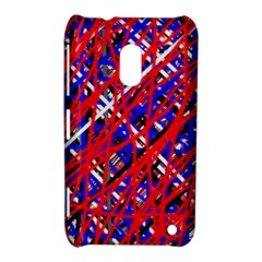 Red and blue pattern Nokia Lumia 620
