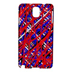 Red and blue pattern Samsung Galaxy Note 3 N9005 Hardshell Case