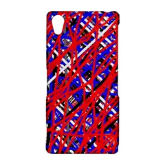 Red and blue pattern Sony Xperia Z2