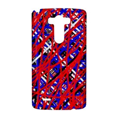 Red and blue pattern LG G3 Hardshell Case