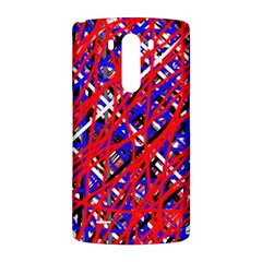 Red and blue pattern LG G3 Back Case