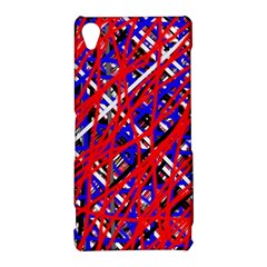 Red and blue pattern Sony Xperia Z3