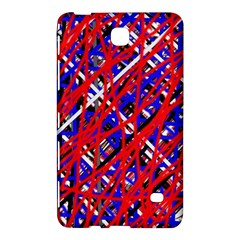Red and blue pattern Samsung Galaxy Tab 4 (7 ) Hardshell Case