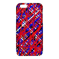 Red and blue pattern iPhone 6/6S TPU Case