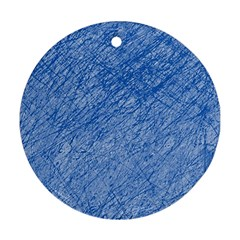 Blue pattern Ornament (Round)