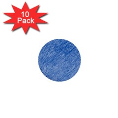 Blue pattern 1  Mini Buttons (10 pack)