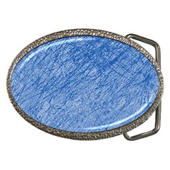 Blue pattern Belt Buckles