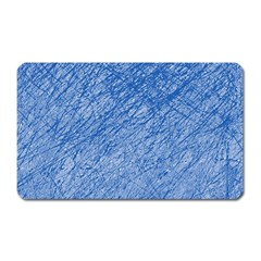 Blue pattern Magnet (Rectangular)