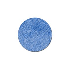 Blue pattern Golf Ball Marker (10 pack)