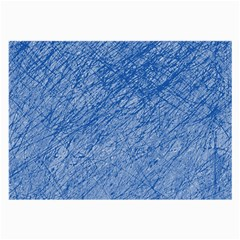 Blue pattern Large Glasses Cloth (2-Side)