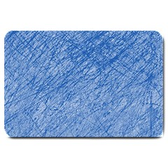 Blue pattern Large Doormat