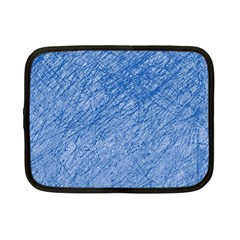 Blue pattern Netbook Case (Small)