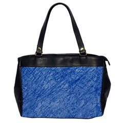 Blue pattern Office Handbags