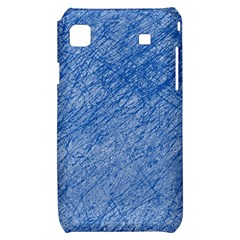 Blue pattern Samsung Galaxy S i9000 Hardshell Case