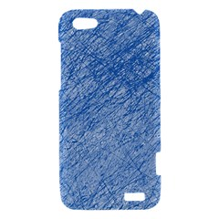 Blue pattern HTC One V Hardshell Case