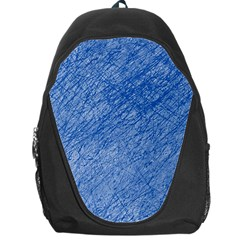 Blue pattern Backpack Bag