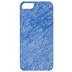 Blue pattern Apple iPhone 5 Classic Hardshell Case