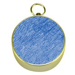 Blue pattern Gold Compasses