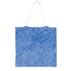 Blue pattern Grocery Light Tote Bag