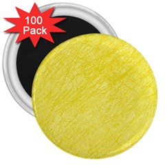 Yellow pattern 3  Magnets (100 pack)