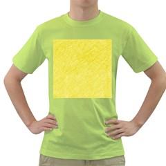 Yellow pattern Green T-Shirt