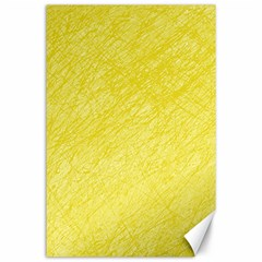 Yellow pattern Canvas 24  x 36