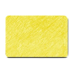Yellow pattern Small Doormat