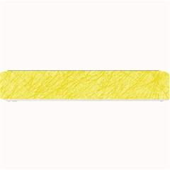 Yellow pattern Small Bar Mats