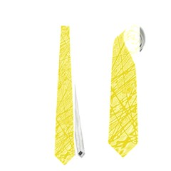 Yellow pattern Neckties (Two Side)