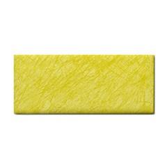 Yellow pattern Hand Towel