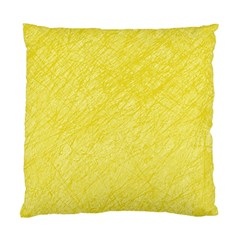 Yellow pattern Standard Cushion Case (Two Sides)