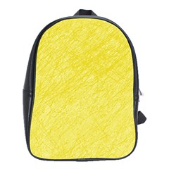 Yellow pattern School Bags(Large)