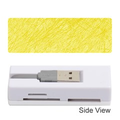 Yellow pattern Memory Card Reader (Stick)