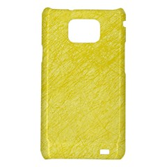 Yellow pattern Samsung Galaxy S2 i9100 Hardshell Case
