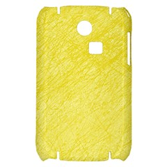 Yellow pattern Samsung S3350 Hardshell Case