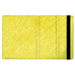 Yellow pattern Apple iPad 3/4 Flip Case