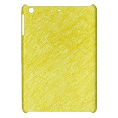 Yellow pattern Apple iPad Mini Hardshell Case