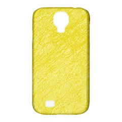 Yellow pattern Samsung Galaxy S4 Classic Hardshell Case (PC+Silicone)