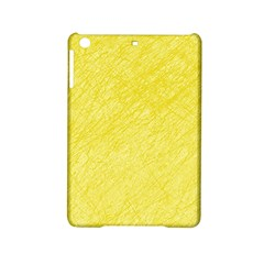 Yellow pattern iPad Mini 2 Hardshell Cases