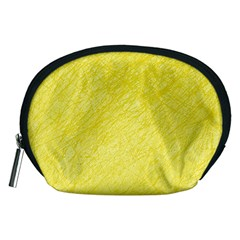 Yellow pattern Accessory Pouches (Medium)