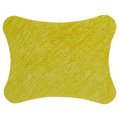 Yellow Pattern Jigsaw Puzzle Photo Stand (bow)